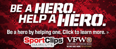 Sport Clips Haircuts of Tucson - Wetmore Center ​ Help a Hero Campaign